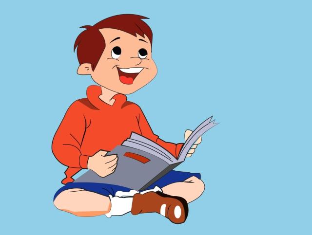 reading skills illustration